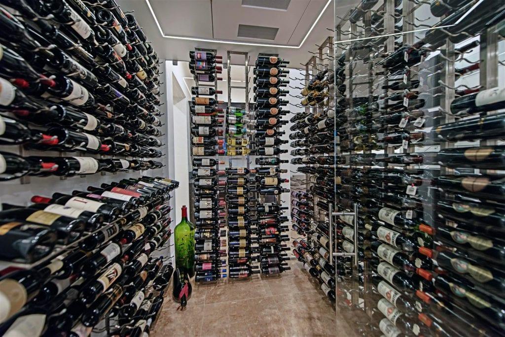 inside vegas wine cellar