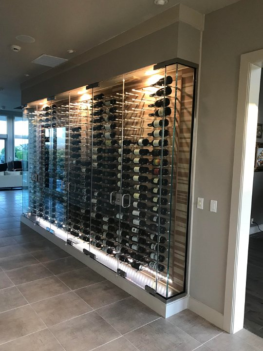 Wine Cellar Innovation Lighting