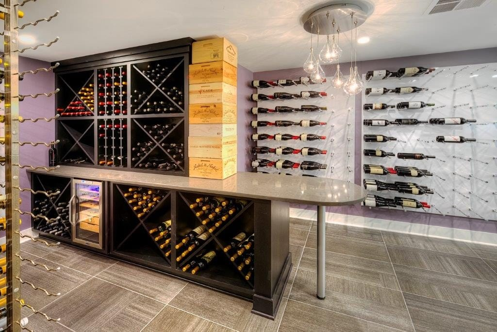 Wisconsin wine room