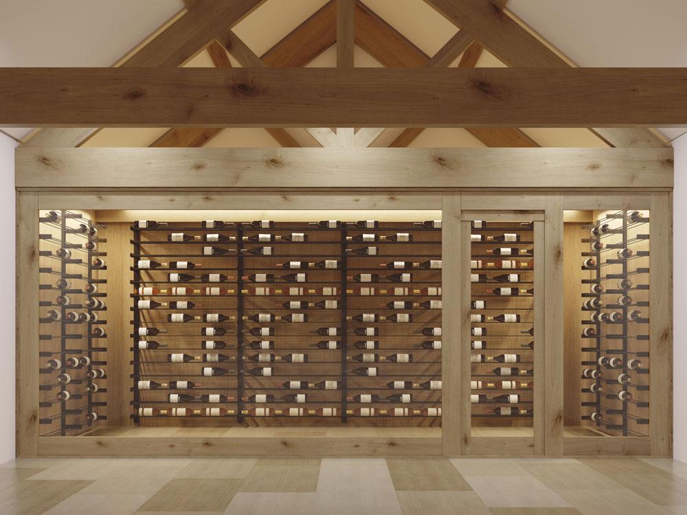 Evolution Series Wine Wall cellar