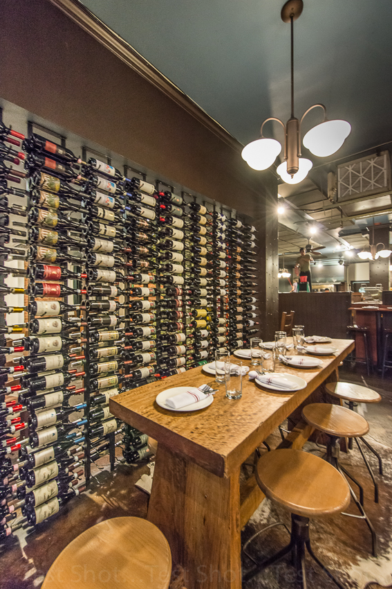 Osteria Marco Denver Wine Wall