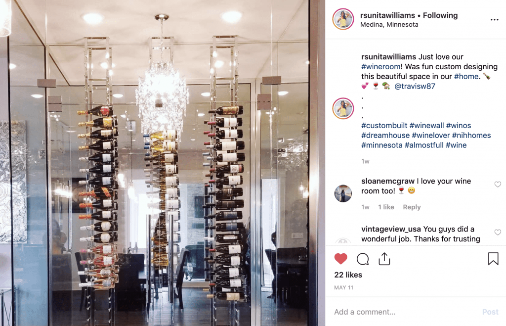 medina minnesota wine cellar