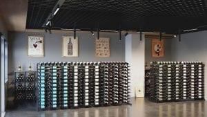 Island Display Wine Racks