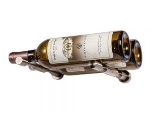 Vino Pins 2 Bottle Wine Rack Kit in Gunmetal
