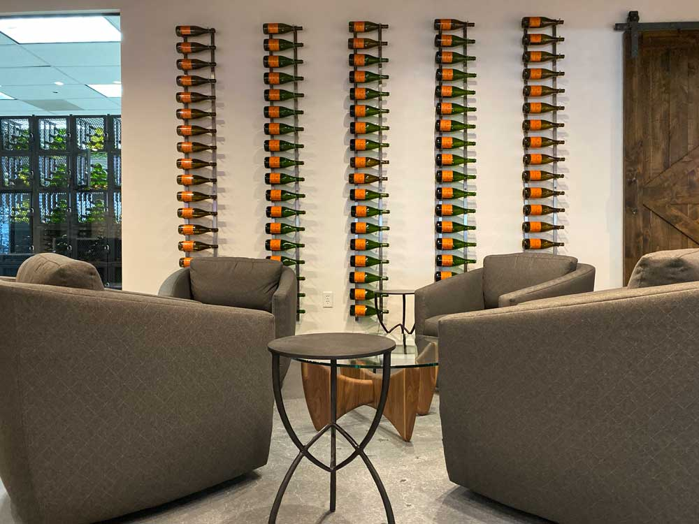 VintageView Design Center Champagne Wall