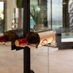 Vino Series Post in Matte Black finish with Aluminum Vino Pins
