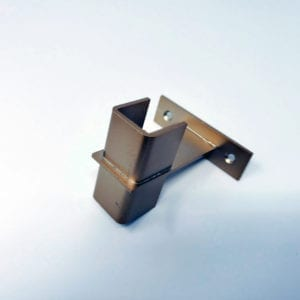 Vino Series Post Wine Rack Frame Extension Bracket in Golden Bronze finish