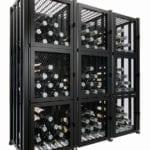 Case & Crate 2.0 Locker Kit (144 bottles, matte black finish)