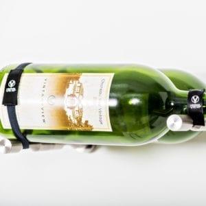 Universal Wine Bottle Retention Straps for any wine rack