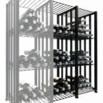 Case & Crate 2.0 Bin Extension Units (2 shown) in Matte Black finish