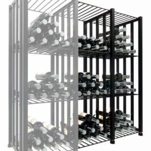 Case & Crate 2.0 Bin Extension Units (2 shown) in Matte Black finish