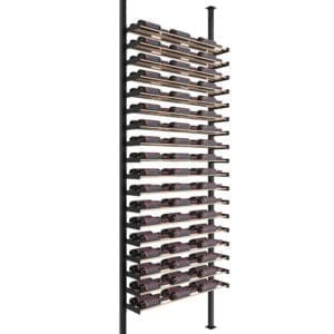 Evolution Wine Wall Post Floating Wine Rack Kit
