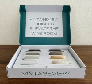 VintageView Wine Rack Finish Sample Kit