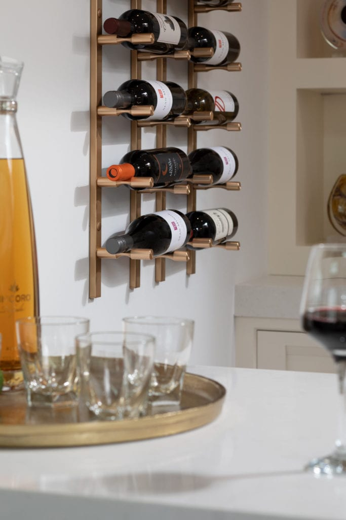 The New American Home Wine Wall 2021